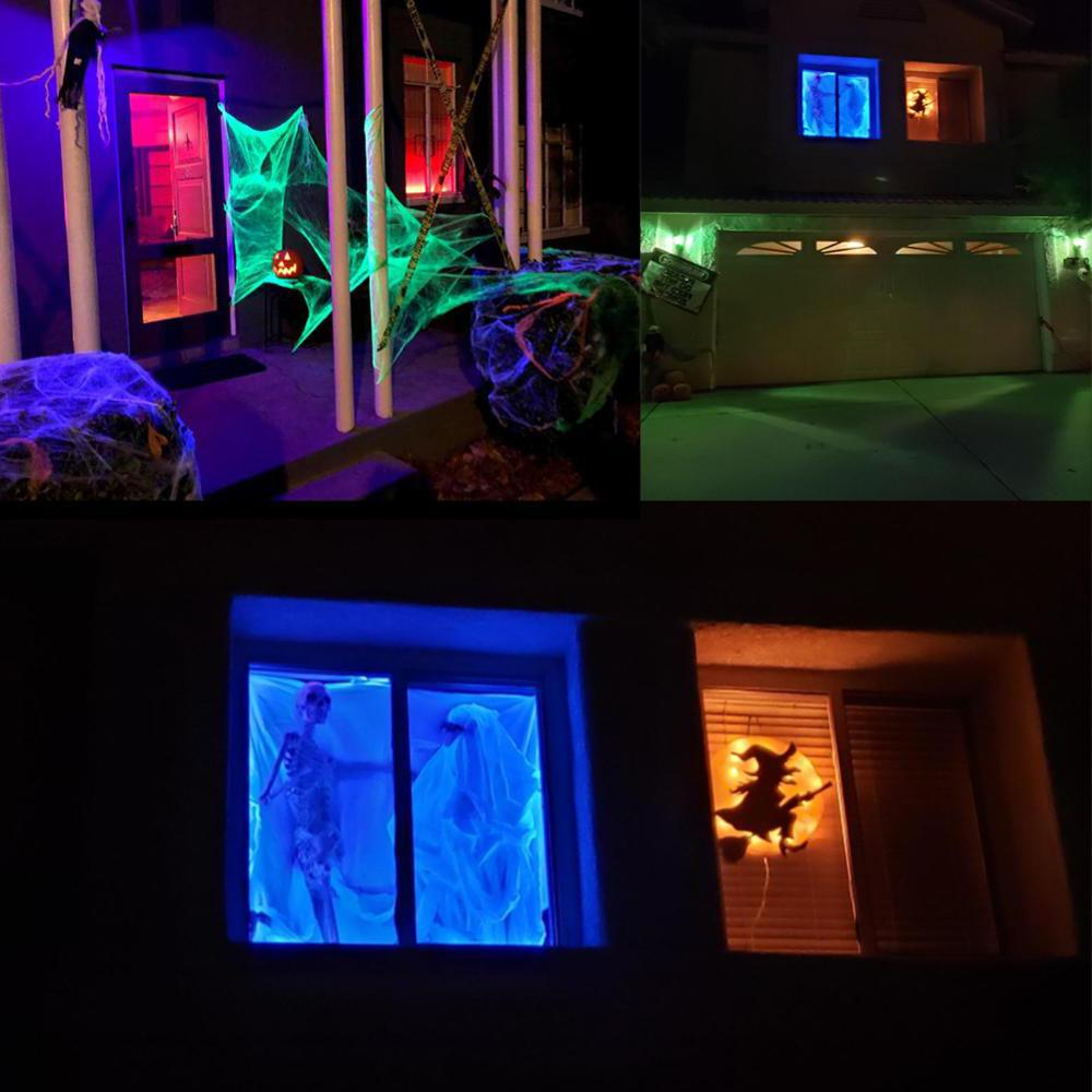 10M <font><b>Light</b></font> USB Halloween Party Waterproof Lamp House Lawn <font><b>Outdoor</b></font>