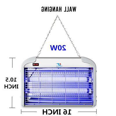 110V 20W Indoor Electric UV Bug Pest Light Catcher