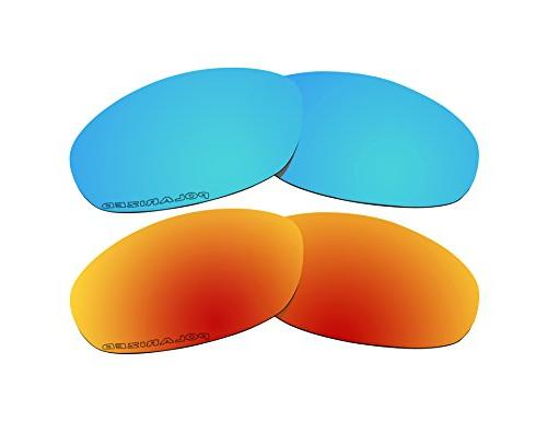 2 pairs polarized lenses replacement blue