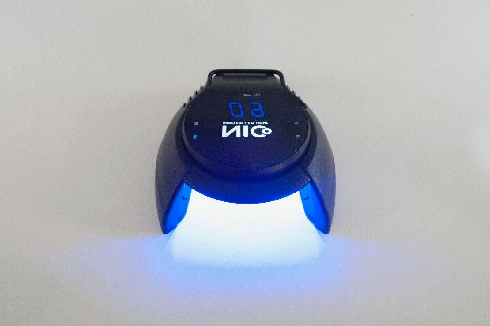 2019 New Cordless LED/UV - Cures Shellac DND