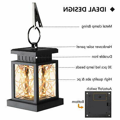 Solar Hanging LED Garden Lamp Decor