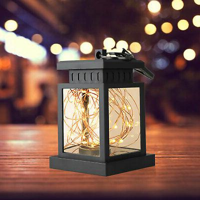 Solar Hanging Light LED outdoor Garden Waterproof