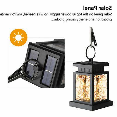 Solar LED Patio Garden Lamp