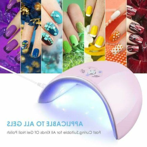 36w led uv nail polish dryer lamp