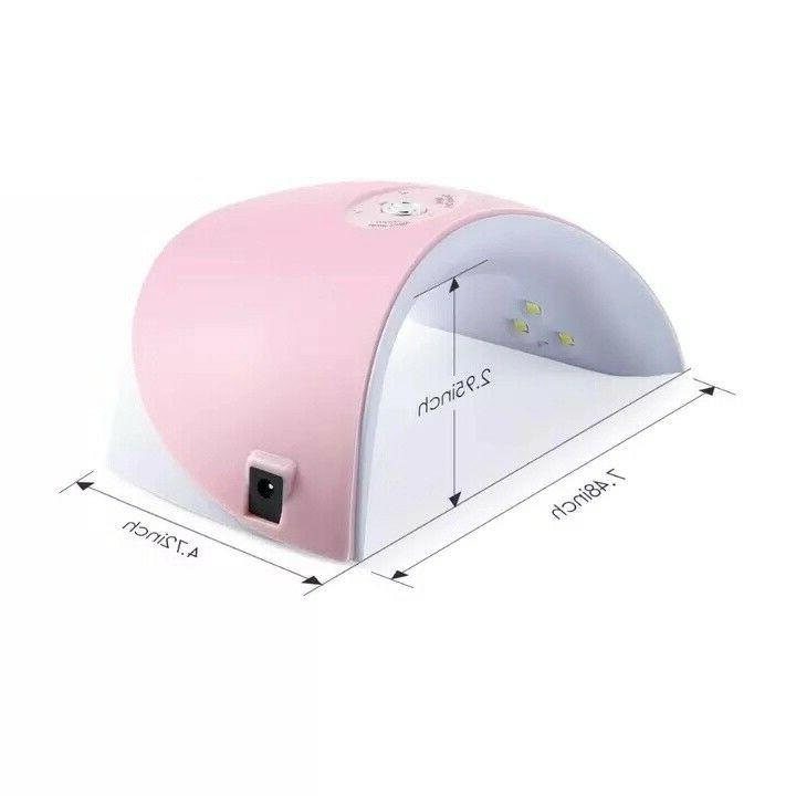36W LED UV Nail Polish Dryer Acrylic Light Spa Professional