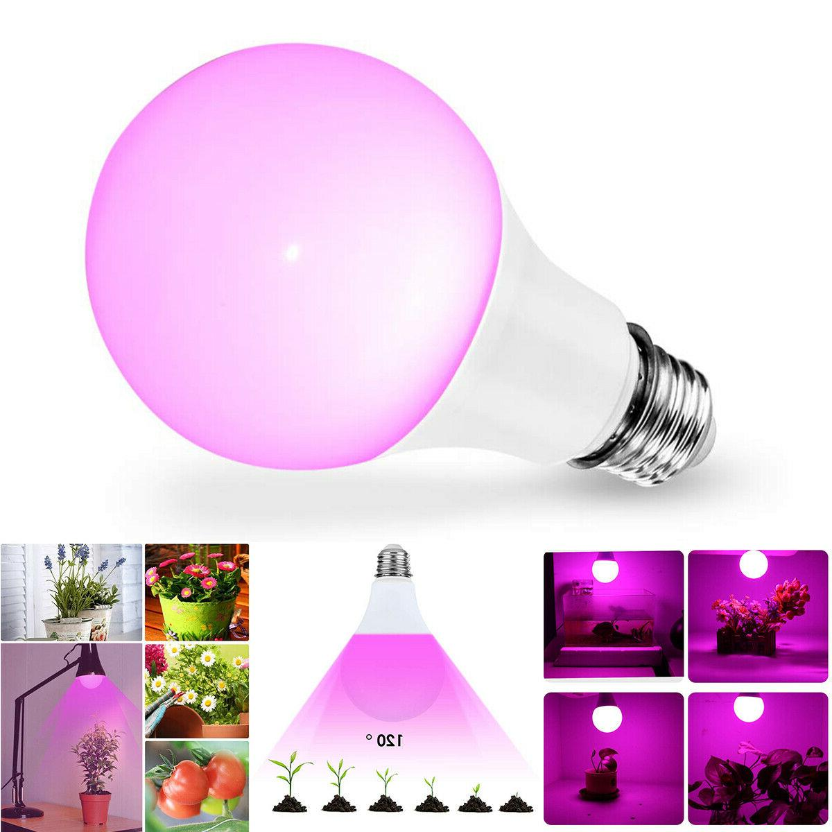 40 led grow light bulb e27 uv