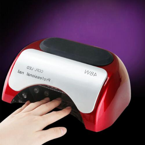 48W Dryer CCFL Light Curing Machine For Gel Polish