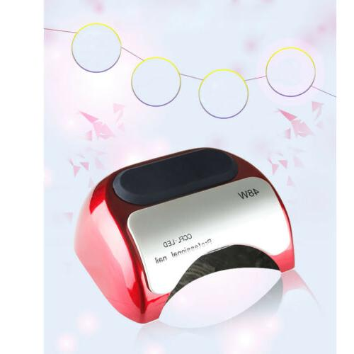 48W Professional Nail CCFL LED Light Curing Gel Polish