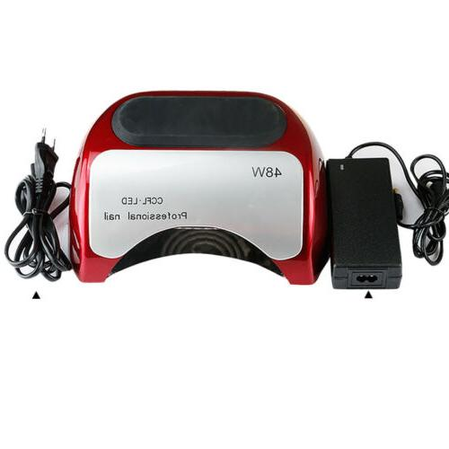 48W Nail Dryer CCFL Lamp Light Curing For Gel Polish