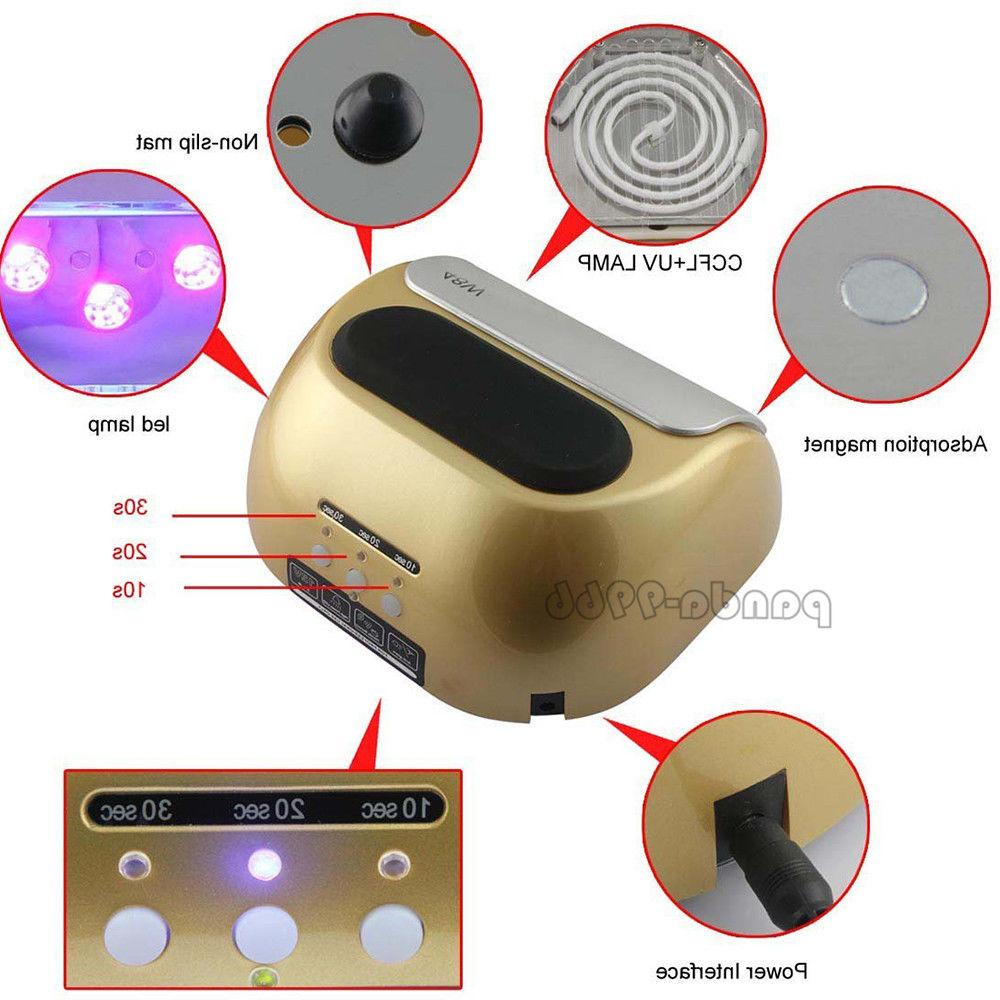 48W Professional Nail Dryer CCFL Light Curing Machine For