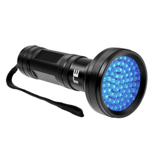 68 LED UV UltraViolet Blacklight Flashlight Lamp Torch Inspe