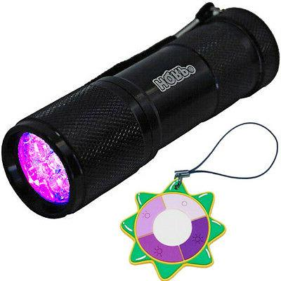 HQRP UV LED Ultra Violet Black Light Torch Lamp Check Curren