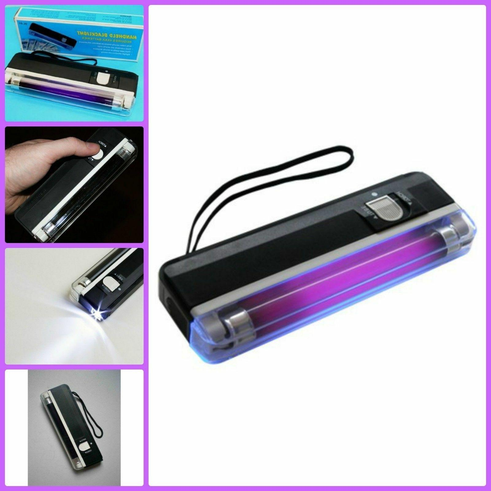 Handheld Portable UV Black Light Torch Blacklight With LED A