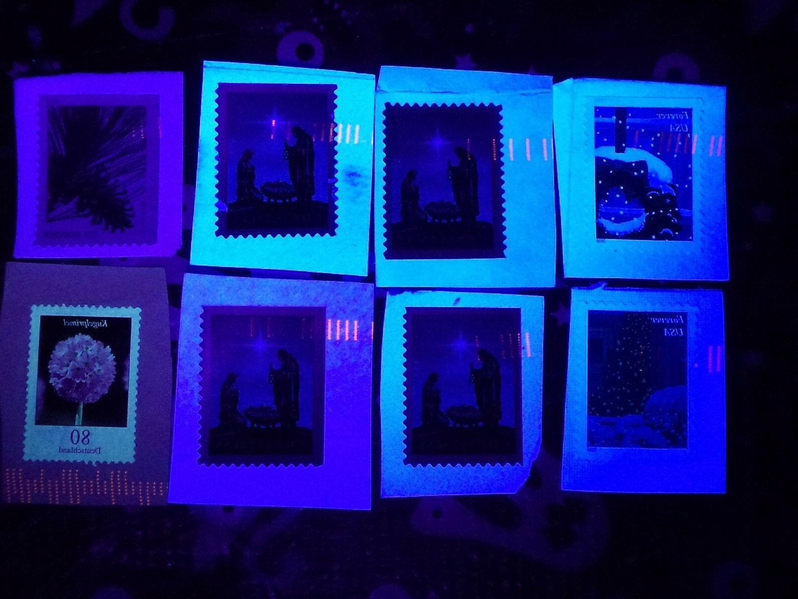 CANCELLED STAMP DETECTOR LIGHT COUNTERFEIT UV ultra violet N