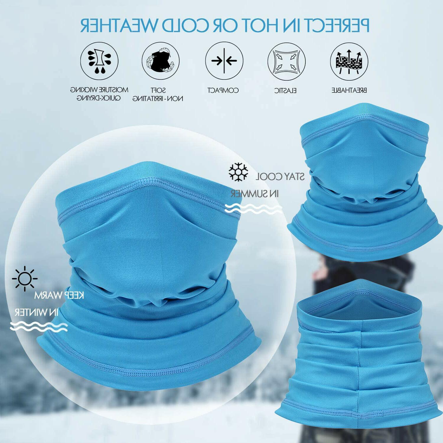 cooling neck gaiter uv protection face cover