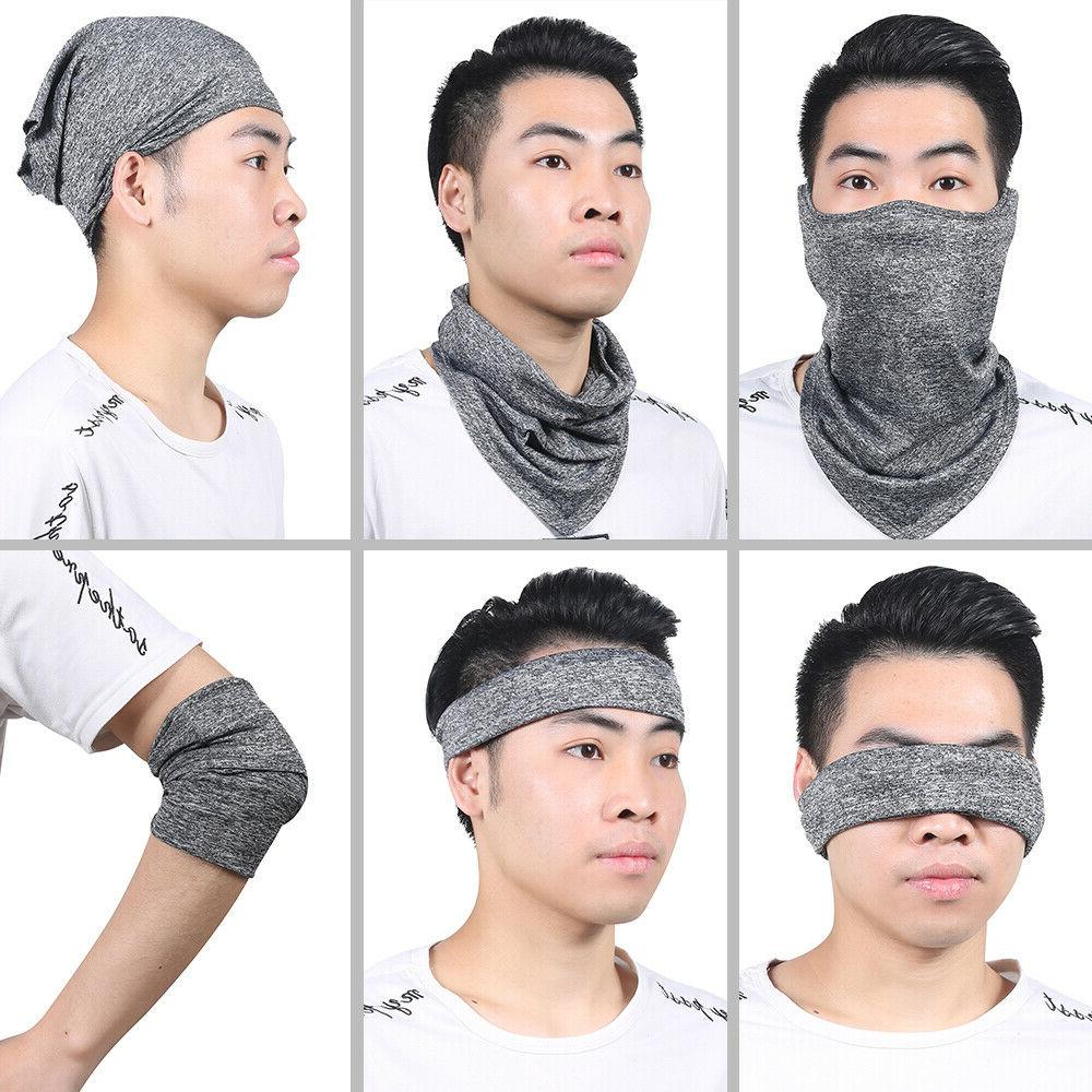 Cycling Motorcycle UV Face Hat Neck Gaiter Scarf Balaclava
