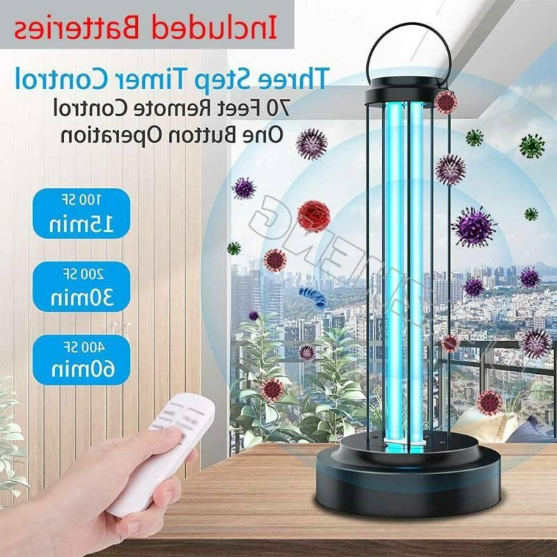 uv ozone disinfection light household ultraviolet germicidal