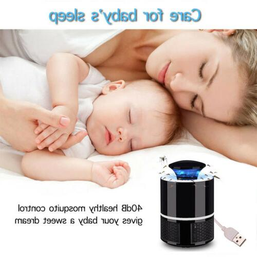 Electric UV Mosquito Lamp Outdoor/Indoor Fly Bug Insect @
