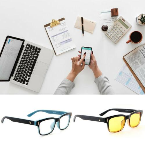 Gaming Glasses Computer Anti Fatigue Blue UV Protection Filter