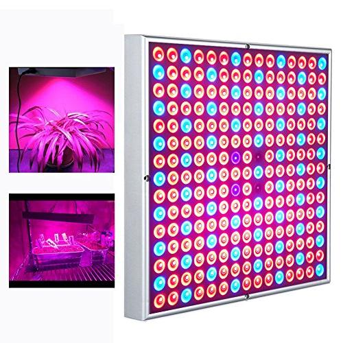 45W Grow Lamp LEDs UV IR Spectrum Panel Greenhouse Seedling Veg and