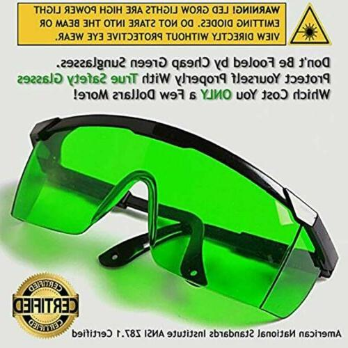 Indoor Hydroponics LED Light Room Tent Goggles UV