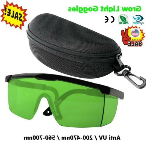 Indoor Hydroponics Light Room Tent Glasses Anti UV
