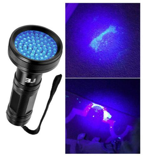 LE LED UV Flashlight Blacklight Detector