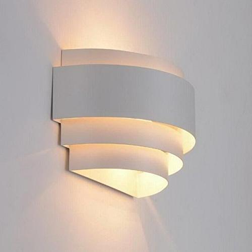 LightInTheBox Modern/Contemporary Wall Sconces 1 Light Metal Glass Decoration E26/E27 Base Painting Finish 110-120V White Color