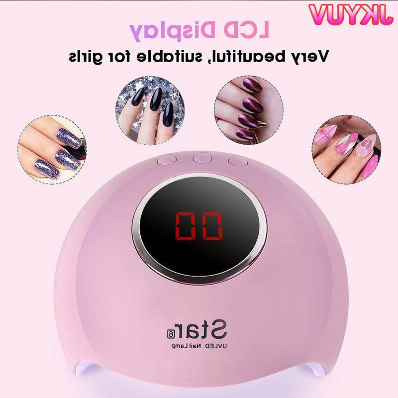 Nail Dryer Lamp UV for Nails Polish Electric Manicure