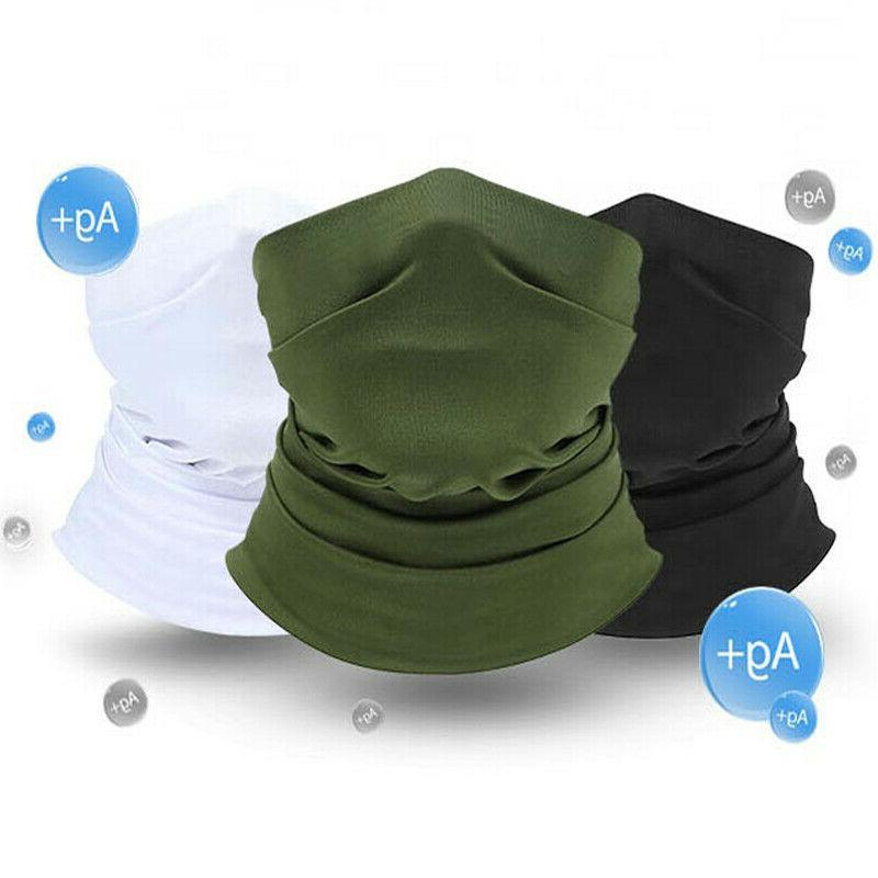 neck gaiter uv protection face cover windproof