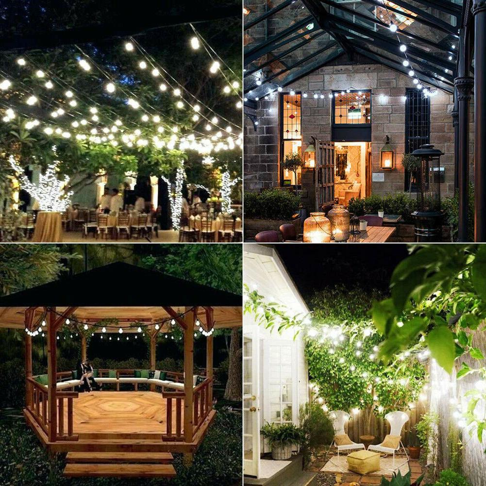 Outdoor Powered 100LED String Light Yard
