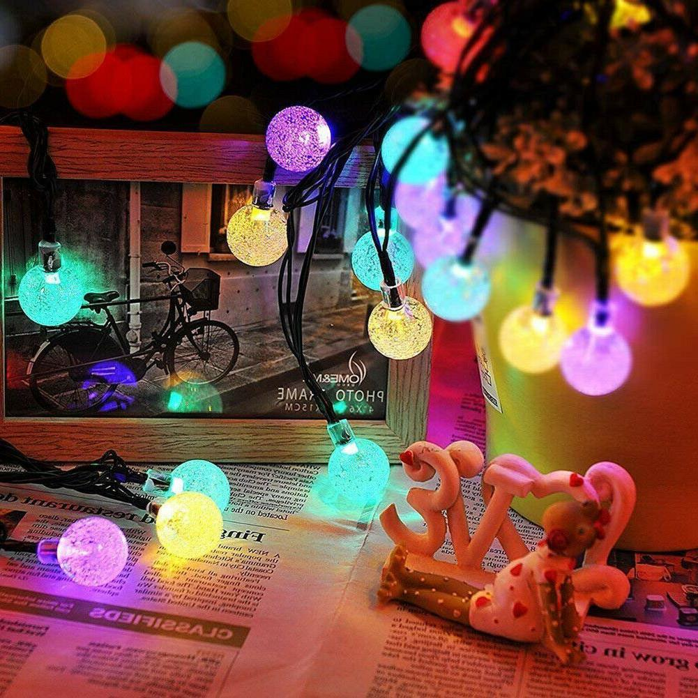 Outdoor Powered 100LED String Patio Yard Lamp