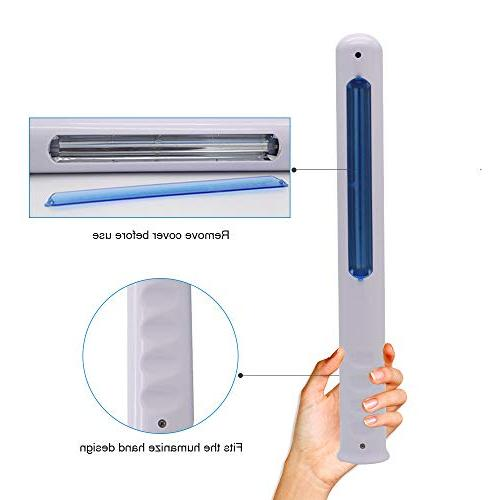 HHTD Portable Sterilizer Wand, Plug UV Cleanner Wand to 99.9% of Germ