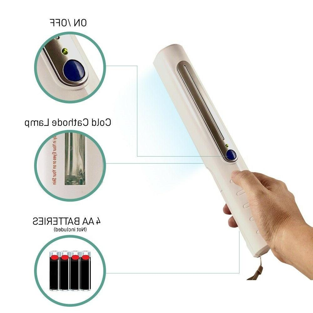 Portable UltraViolet UV Sanitizer Disinfection Germicide Wand