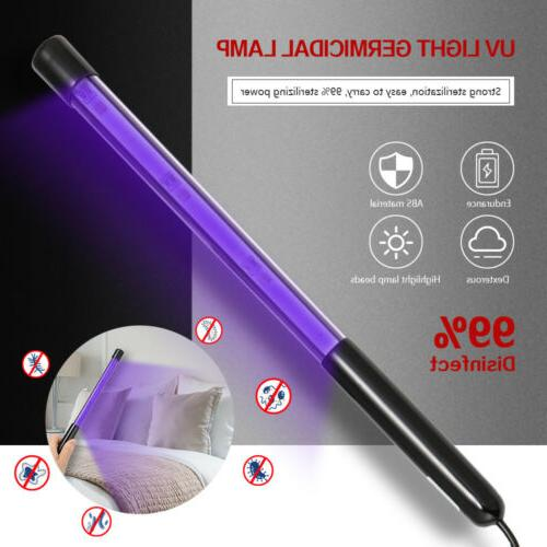 Portable UV-C Light UV Lamp Home Handheld Ultra Sterilize Violet Light Wand