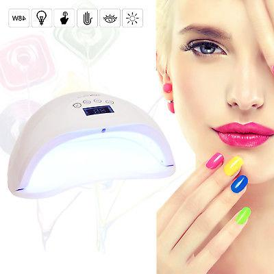 Professional Nail Dryer Gel Lamp 48W WHT