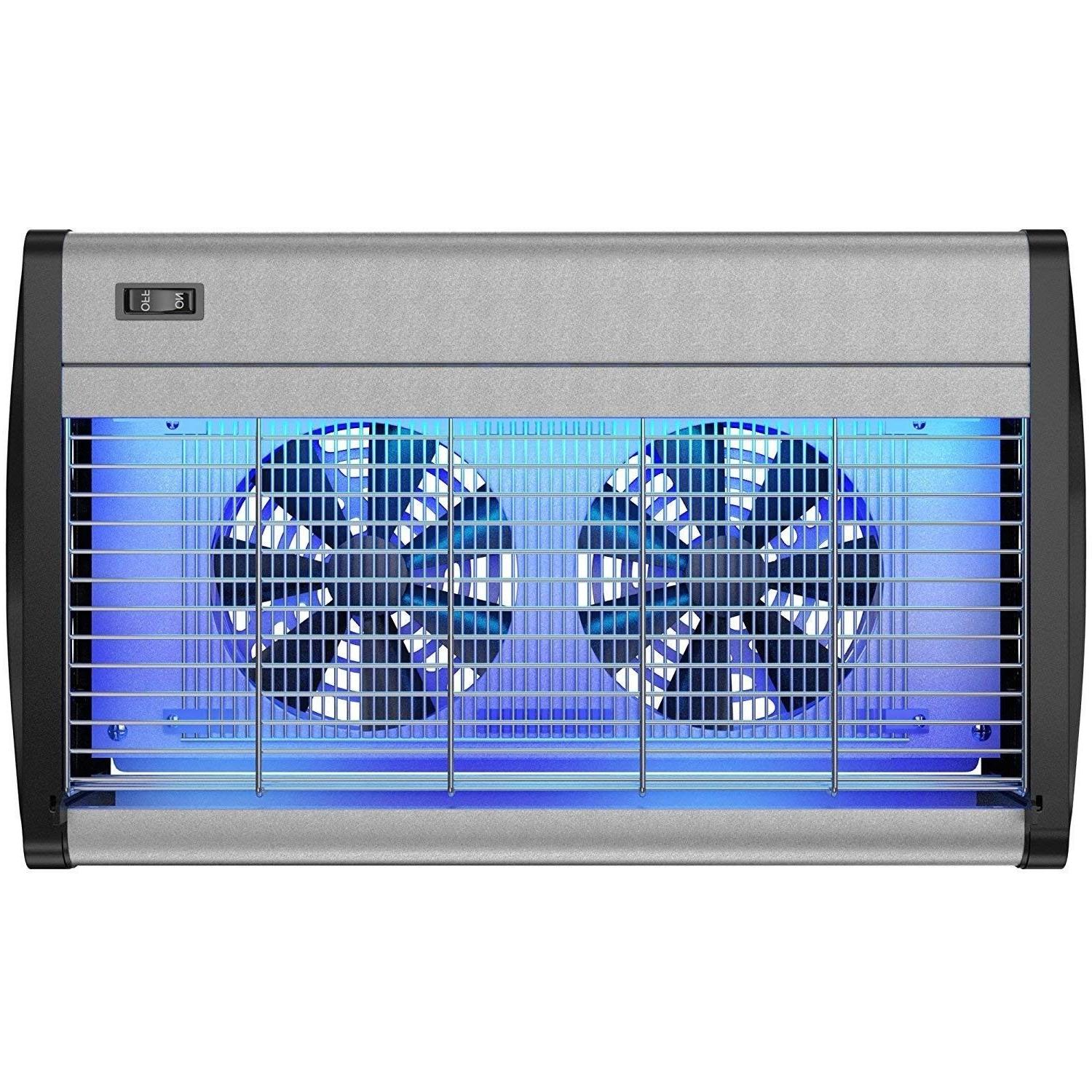 robust electric indoor bug zapper with uv
