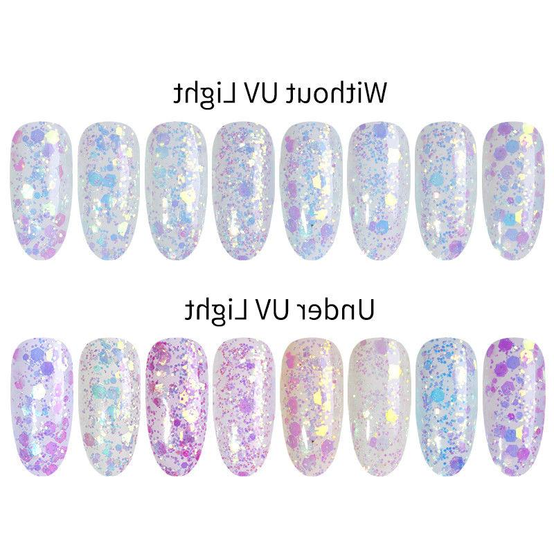 Sun Nail Art Color Size Flakes