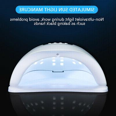 80W Lamp UV LED Professional Nail Dryer Machine