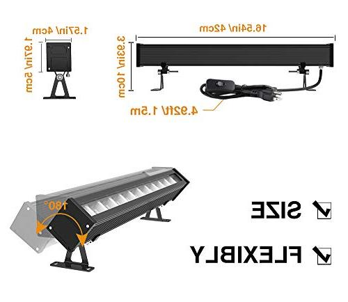 Onforu 3 UV Black Bar, with US and Switch, in Dark Stage Body Wedding Party