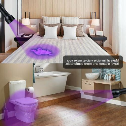UV Flashlight Black Flashlight Ultraviolet LED Pet Urine