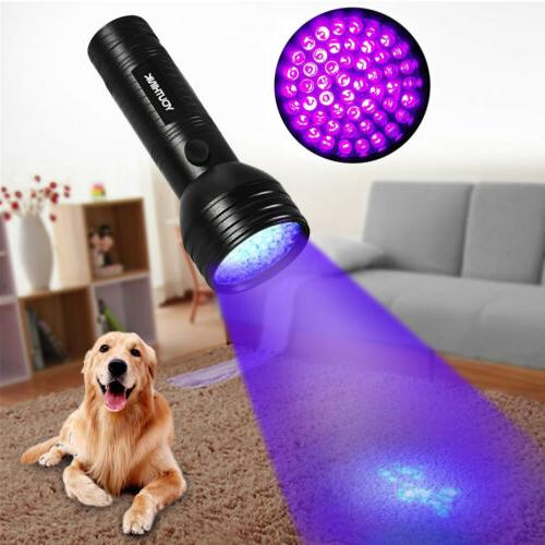 UV Flashlight Ultraviolet Urine Stains