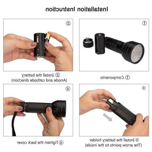 Torch Blacklight Flashlight Hunter Finder