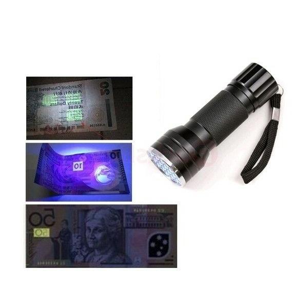 UV Ultra Violet LED Aluminum Light NEW
