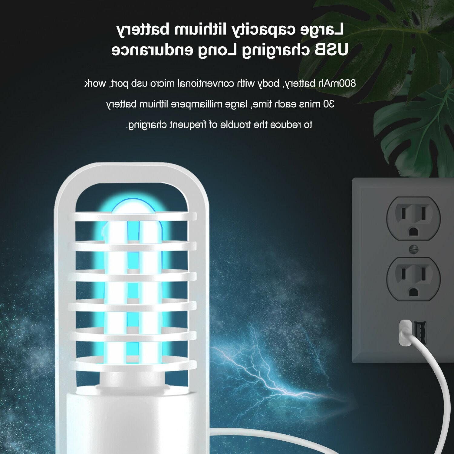 UV UVC Germicidal Portable Rechargeable Lamp Office