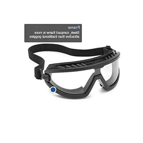 Gateway 4589P Foam-Lined Safety Anti-Fog Lens, with Edge