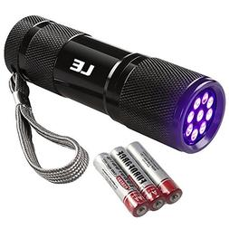 le ultra violet flashlight blacklight