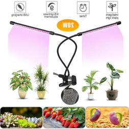LED Grow Light LED UV IR Growing Lamp for Indoor Plants Hydr