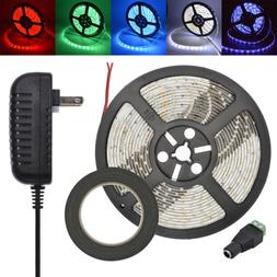 LED Strip Tape Light Kit with 12V Power Supply for Under Cab