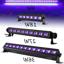 LED UV Black Lights 36W 27W 18W 9W Bar Stage Lighting DJ Dis
